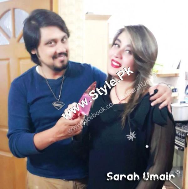 Birthday Celebrations of Actress Sarah Umair (6)