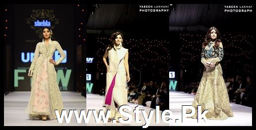 Classy Looks of Pakistani Models on FPW15 Day 1 (1)