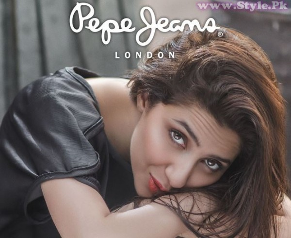 Mahira Khan for Pepe Jeans Pakistan Winter 2015 Campaign - #MKLovesPepe (8)