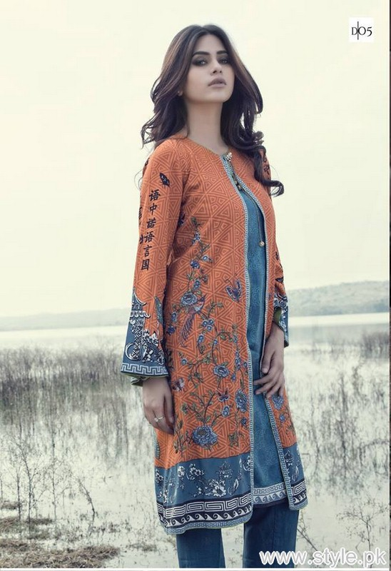 Maria B Linen Collection 2015-2016 For Winter 6
