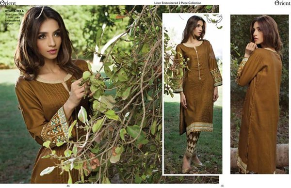 Orient Textiles Linen Collection 2015 For Women0012