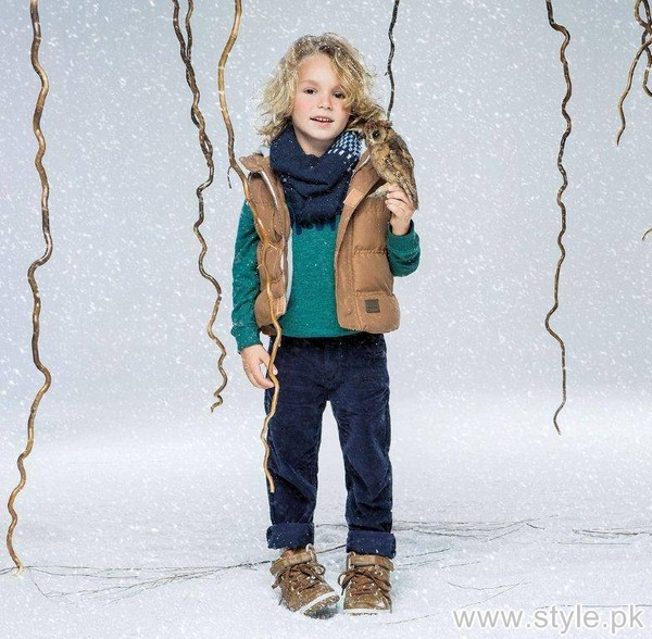 Outfitters Junior Winter Dresses 2015 For Kids 4