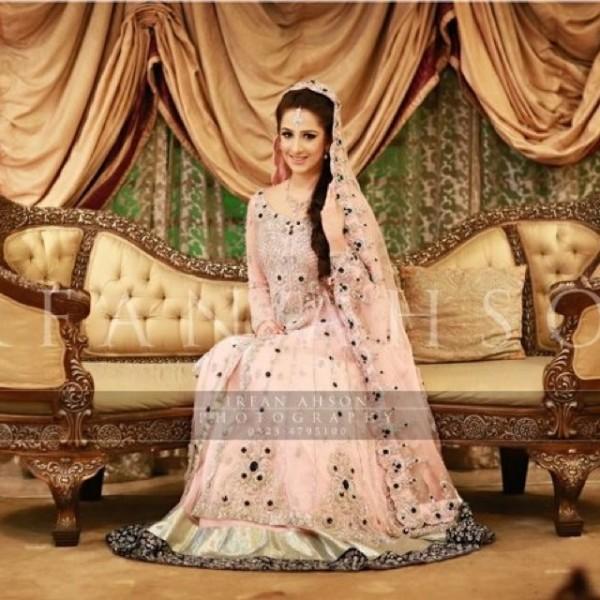 Pink Pakistani Walima dresses