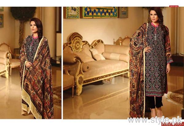 Shaista Cloth Winter Dresses 2015 For Women 6