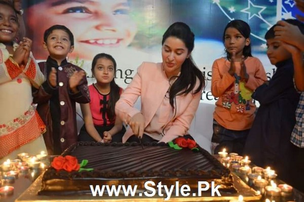 Shaista Lodhi Celebrated her birthday with Thalassemia patients (2)