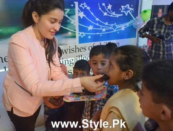 Shaista Lodhi Celebrated her birthday with Thalassemia patients (5)