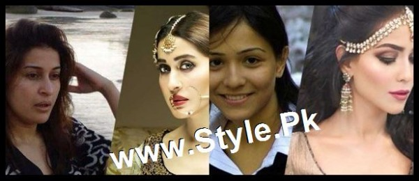 Top 13 Pakistani Celebrities with and without Makeup (10)