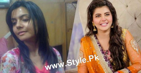 Top 13 Pakistani Celebrities with and without Makeup (4)