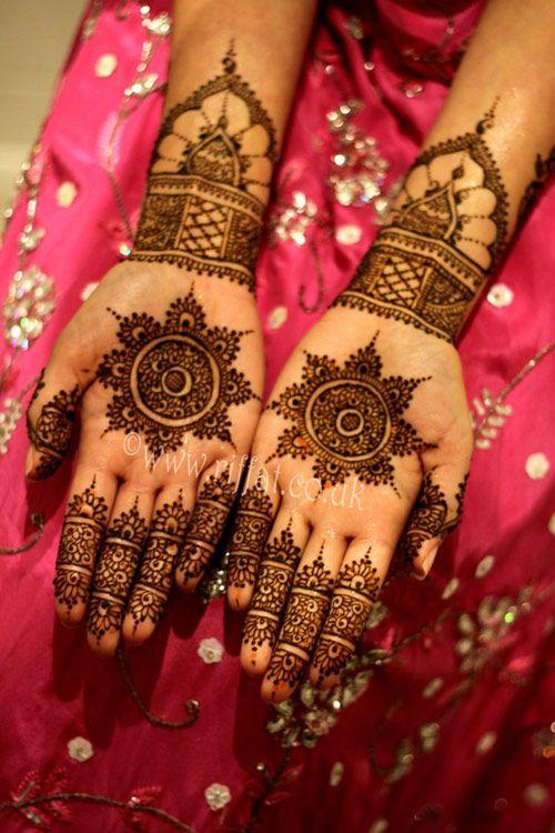 bridal designs of mehndi