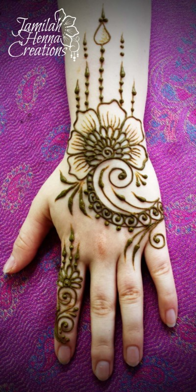 kids mehndi designs - kid