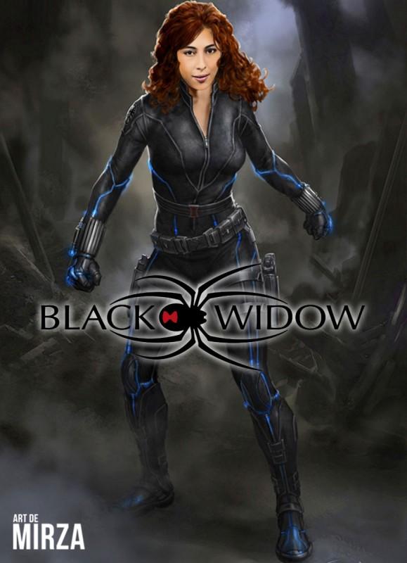 meesha shafi black widow