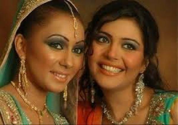 nida yasir and sawera pasha