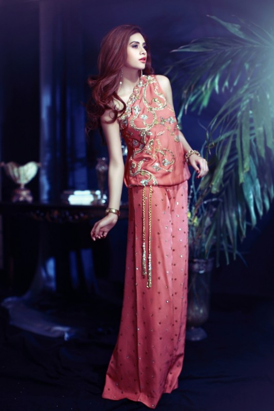 pink wedding dress 2016