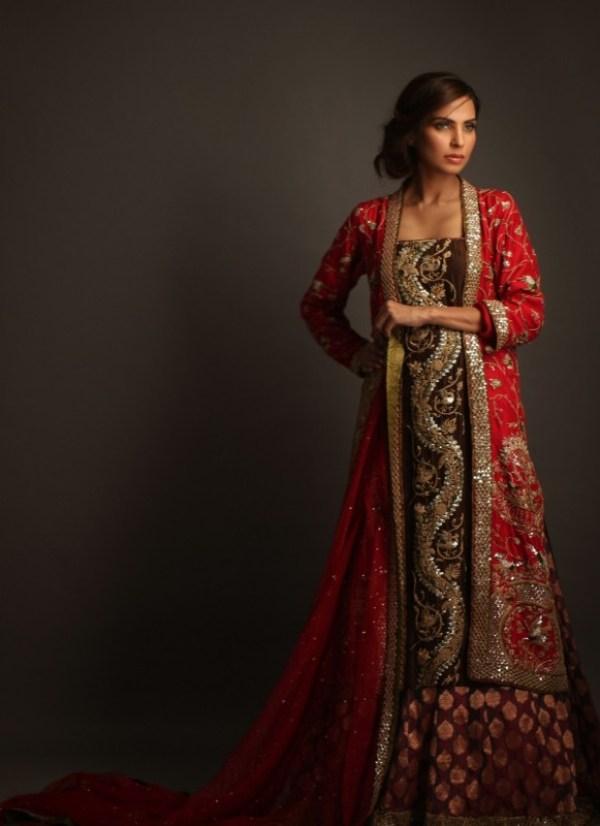 red bridal dresses