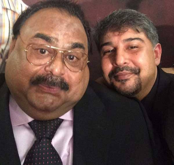 selfie of altaf hussain