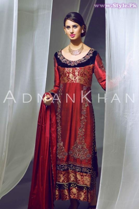 Adnan Khan Formal Dresses 2015-2016