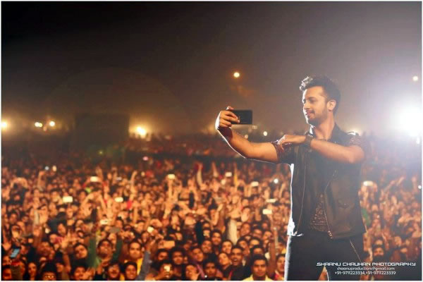 Atif Aslam in new delhi