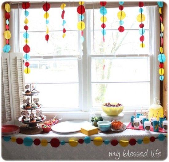Birthday Decoration Ideas 2016 - cuttings