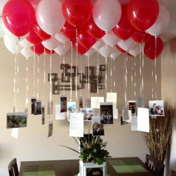 Birthday Decoration Ideas 2016 -red whitw