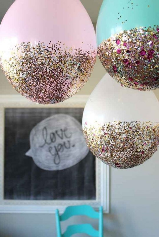 Birthday Decoration Ideas 2016 -shimmer