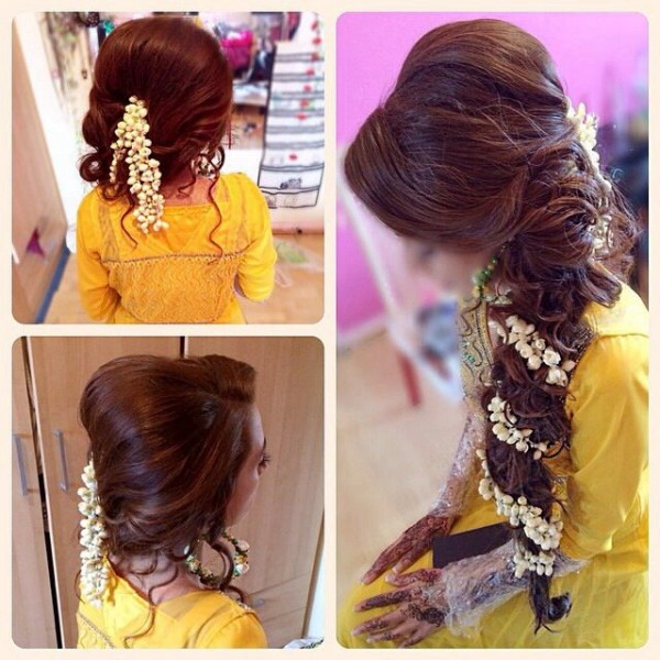 Bridal Hairstyles - long hairs