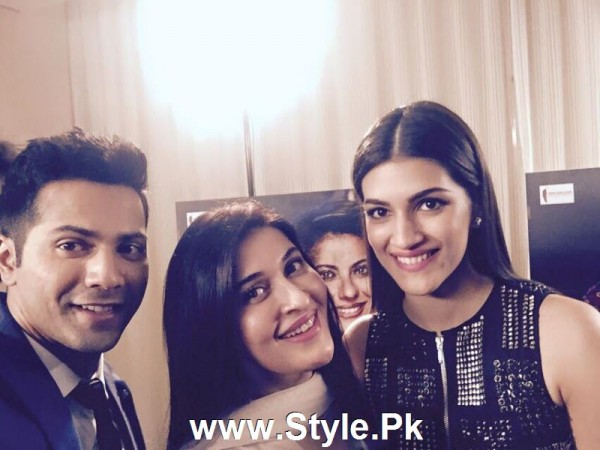Cast of movie Dilwale with Shaista Lodhi in Sitaray Ki Subha (3)
