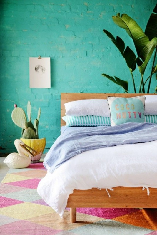 Colorful Interior Home Decoration-wall