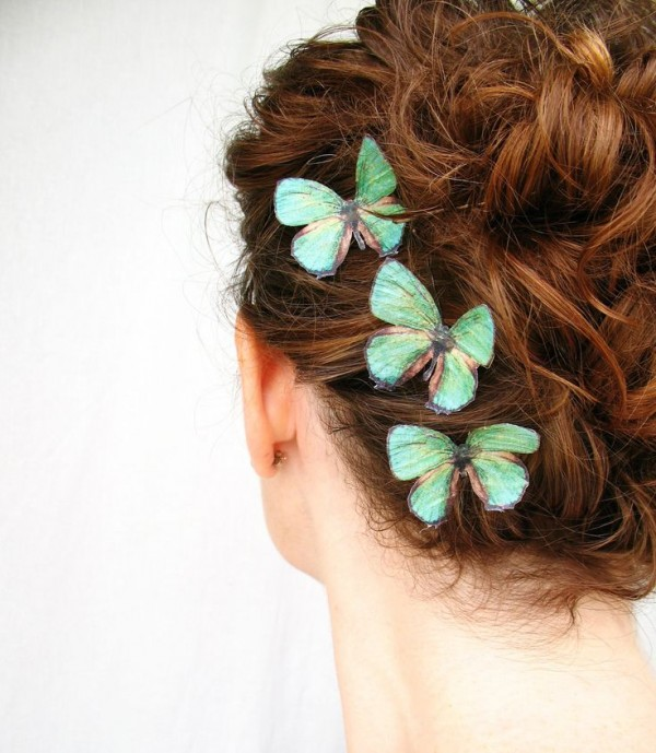 Hair Accessories 2016 for girls-butterflys