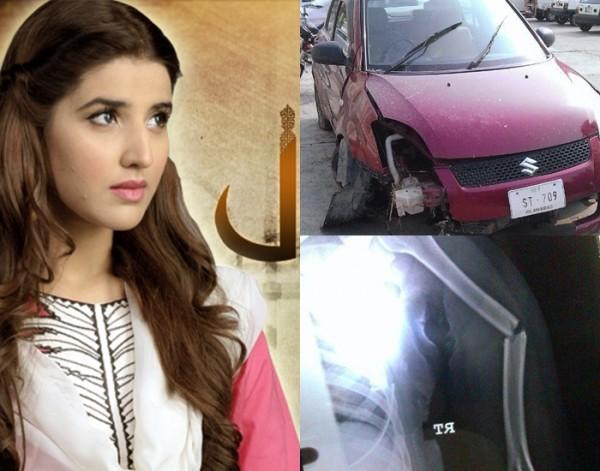 Hareem Farooq accident