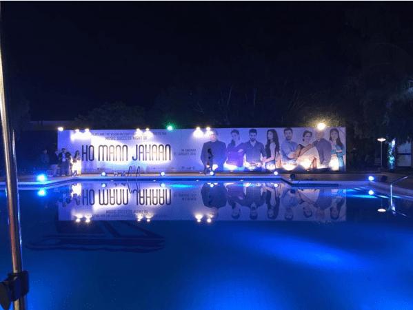 Ho Mann Jahan Music Success Night-stage