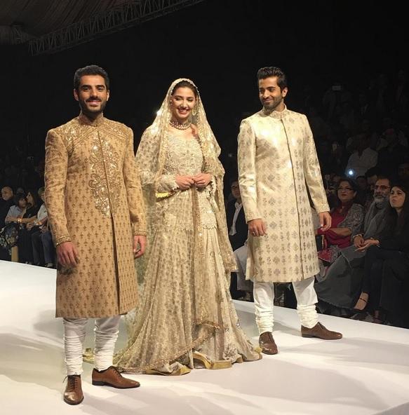 Ho man Jahan cast on fashion ramp