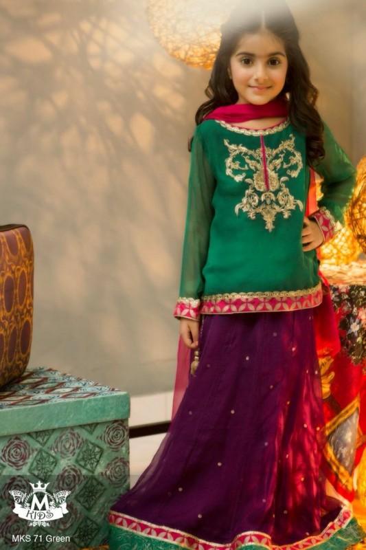Kids Fancy dresses 2016 in Pakistan-girls