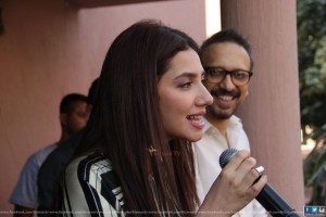 Mahira Khan at IOBM University