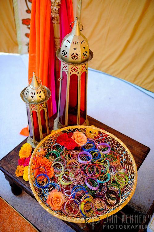 Mehndi Decoration Ideas 2016- bangles