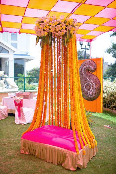 Mehndi Decoration Ideas 2016-stage