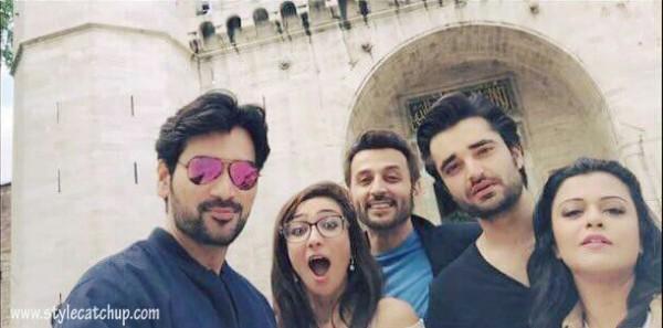 Pakistani celebrities During Travelling- humza ali