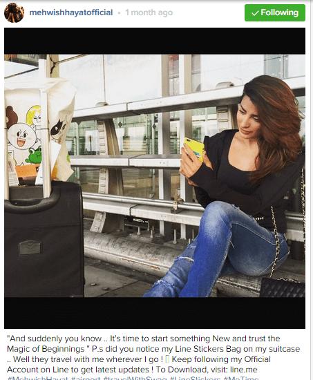 Pakistani celebrities During Travelling-mehwish4