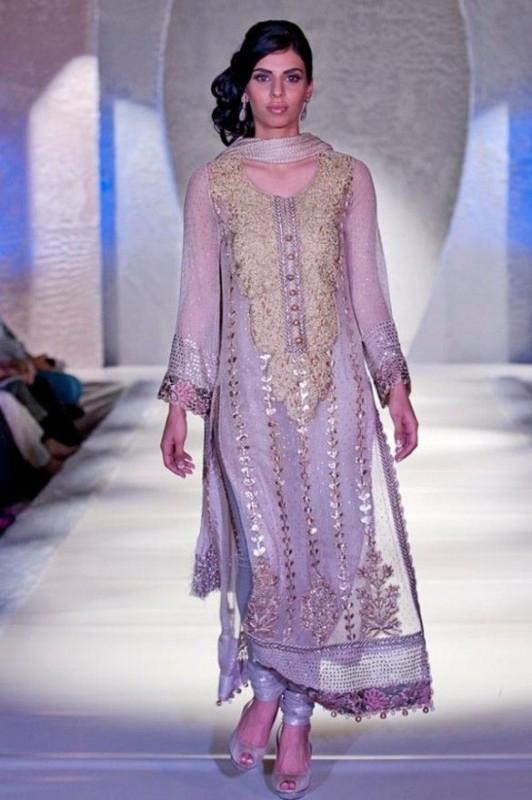 Mukesh Fancy Dresses For Girls