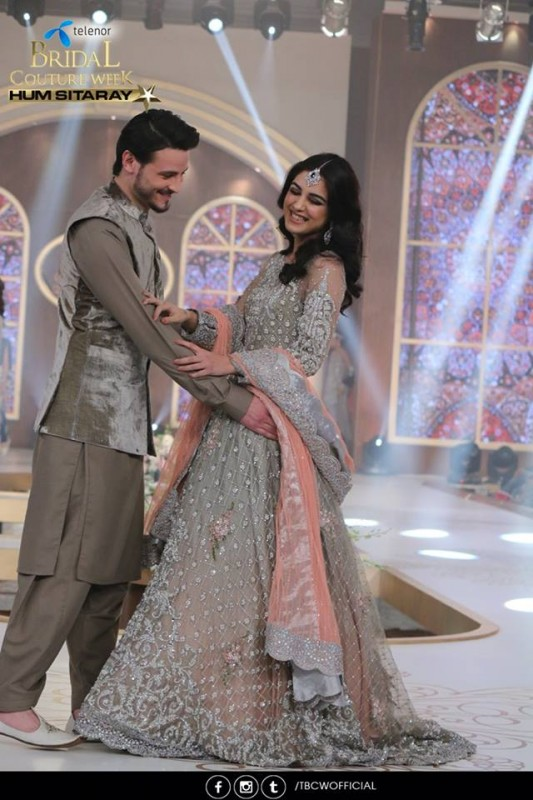 The beautiful couple Maya Ali and Osman Khalid Butt romanced on ramp (14)