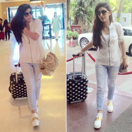 Urwa Hocane shoes