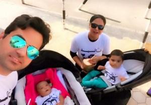 Veena Malik family latest pictures