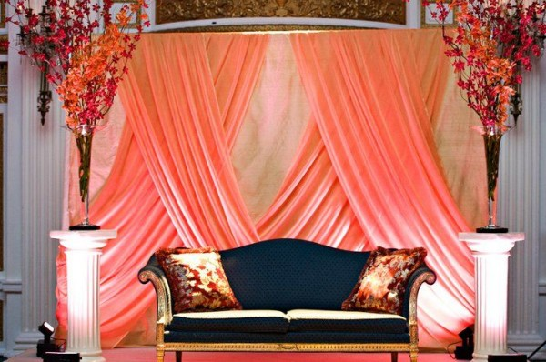 Wedding  Stage Decoration Ideas 2016-pink