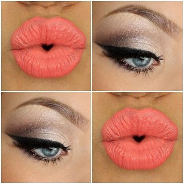 Winter Makeup Ideas 2016-bold lipstick