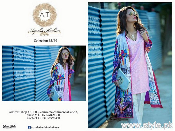 Ayesha Ibrahim Winter Collection 2016 For Girls 2