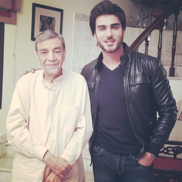 Cast of Tum Kon Piya and Mann Mayal with Zaid Ali (5)