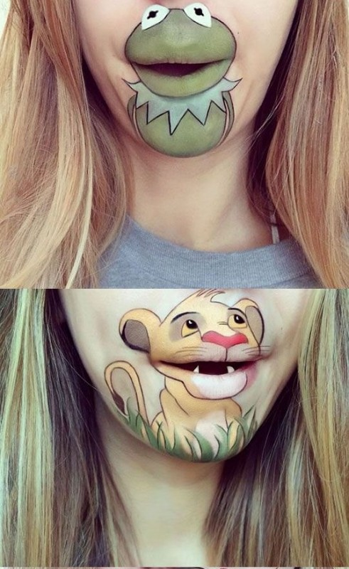 Crazy Lip Art Designs- awsume 23