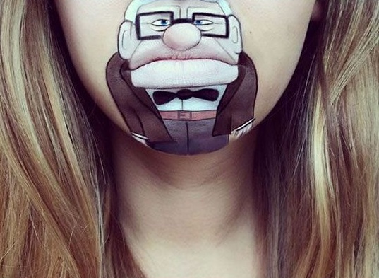 Crazy Lip Art Designs- awsume