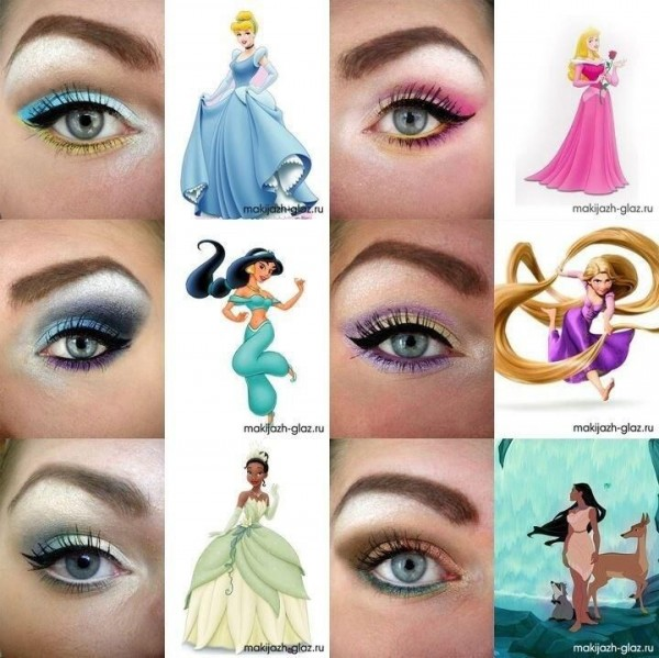 Eye Makeup for Disney Lovers--