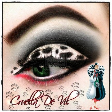 Eye Makeup for Disney Lovers-nani