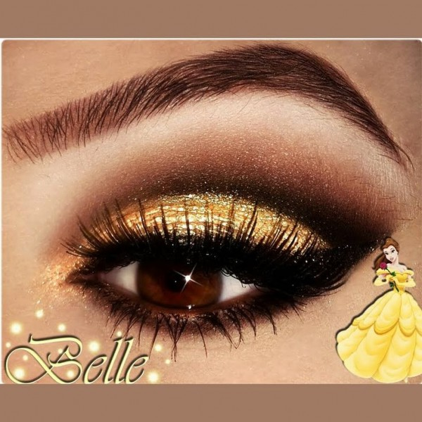 Eye Makeup for Disney Lovers- yellow